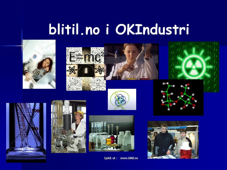 Sjekk ut : www.blitil.no blitil.no i OKIndustri
