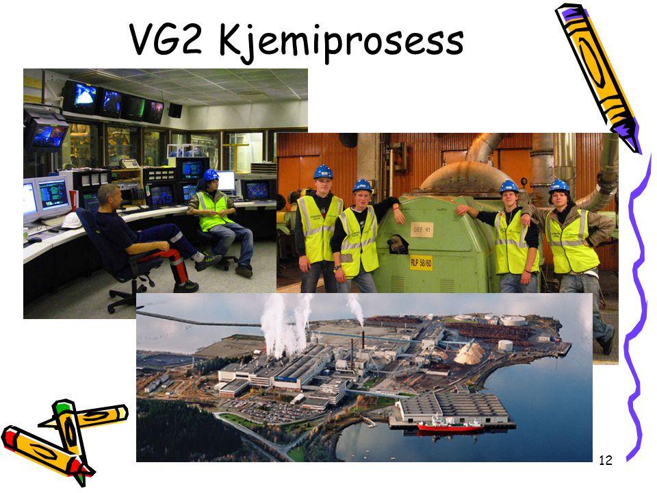 12 VG2 Kjemiprosess