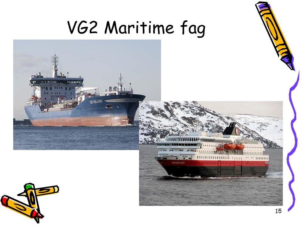 15 VG2 Maritime fag