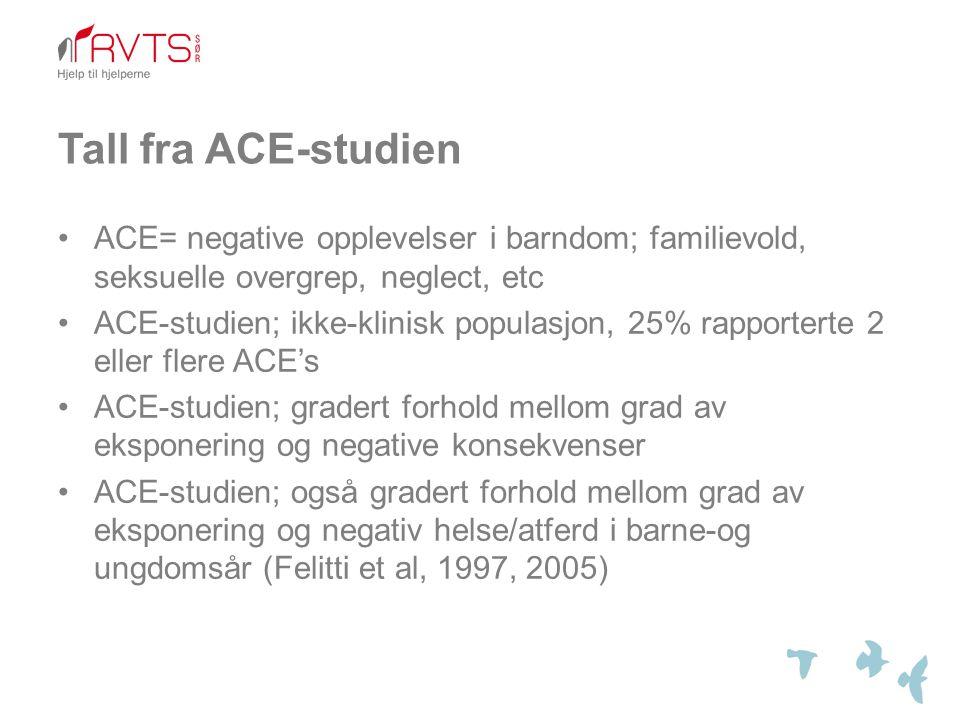 Tall fra ACE-studien