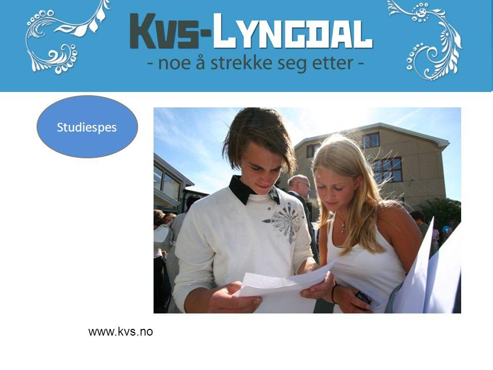 www.kvs.no Studiespes