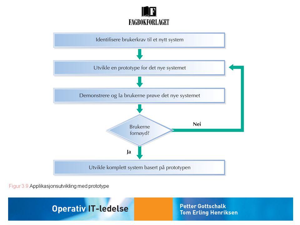 Figur 3.9 Applikasjonsutvikling med prototype