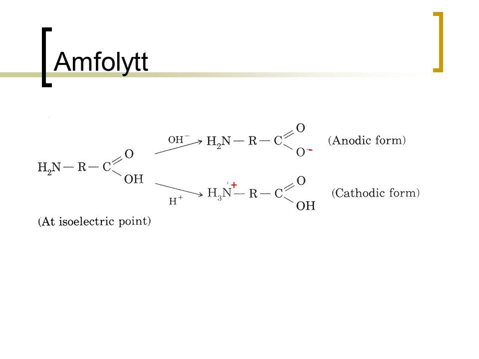 Amfolytt + -