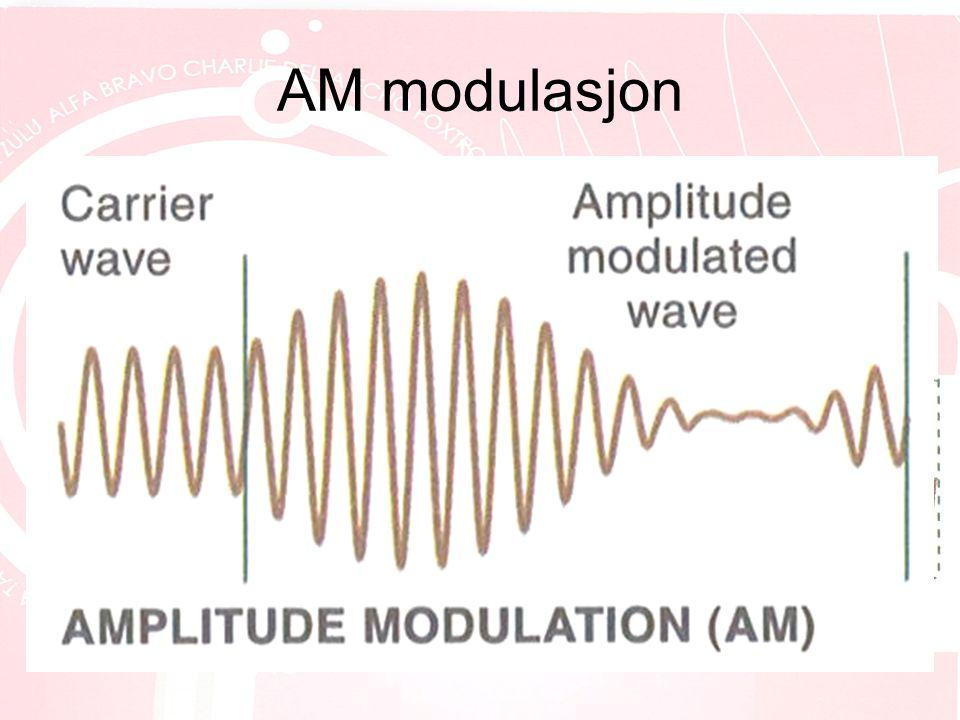 AM modulasjon