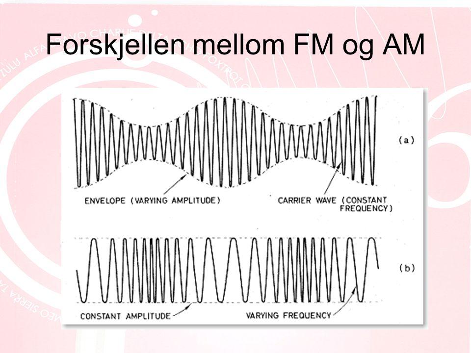 Forskjellen mellom FM og AM