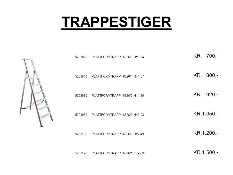 TRAPPESTIGER 5203020PLATTFORMTRAPP 6626/3 H=1,34 KR.
