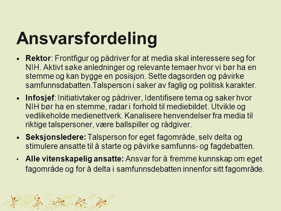Kjernebudskap 1.Norges fremste eksperter på mennesket i bevegelse 2.