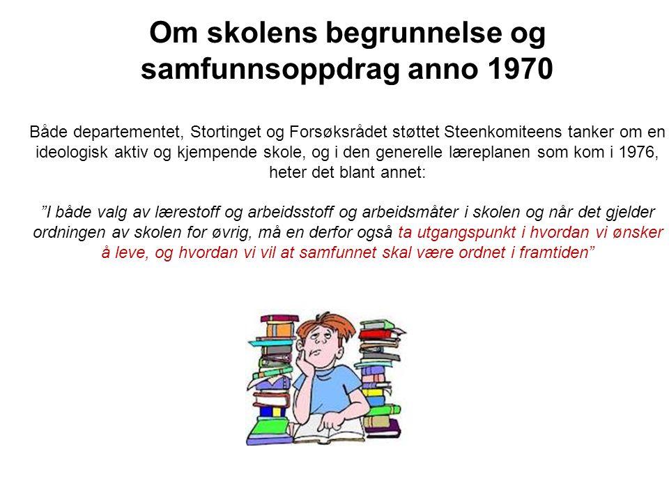 Idrettsfag og struktur Fag1976/1984R-94LK2006 Norsk4+5+5 4+4+6 Religion og etikk0+0+3 Engelsk5+0+0 Samfunnslære (*)2+0+00+2+00+3+0 Geografi0+3+00+2+0 Historie (E/N)0+3+40+0+40+2+4 Naturfag0+5+05+0+0 B/C-språk4+4+0 4+4+5* Matematikk5+0+0 5+3+0 Valgfag2+2+32+7+6 Idrettsteori/tr.lære2+2+44+3+32+3+5 Idrett og samfunn1+1+30+3+30+2+3 Treningsledelse2+2+20+2+30+2+4 Aktivitetslære8+8+86+9+85+5+5 VPF5+5+5 SUM:35 t NB.