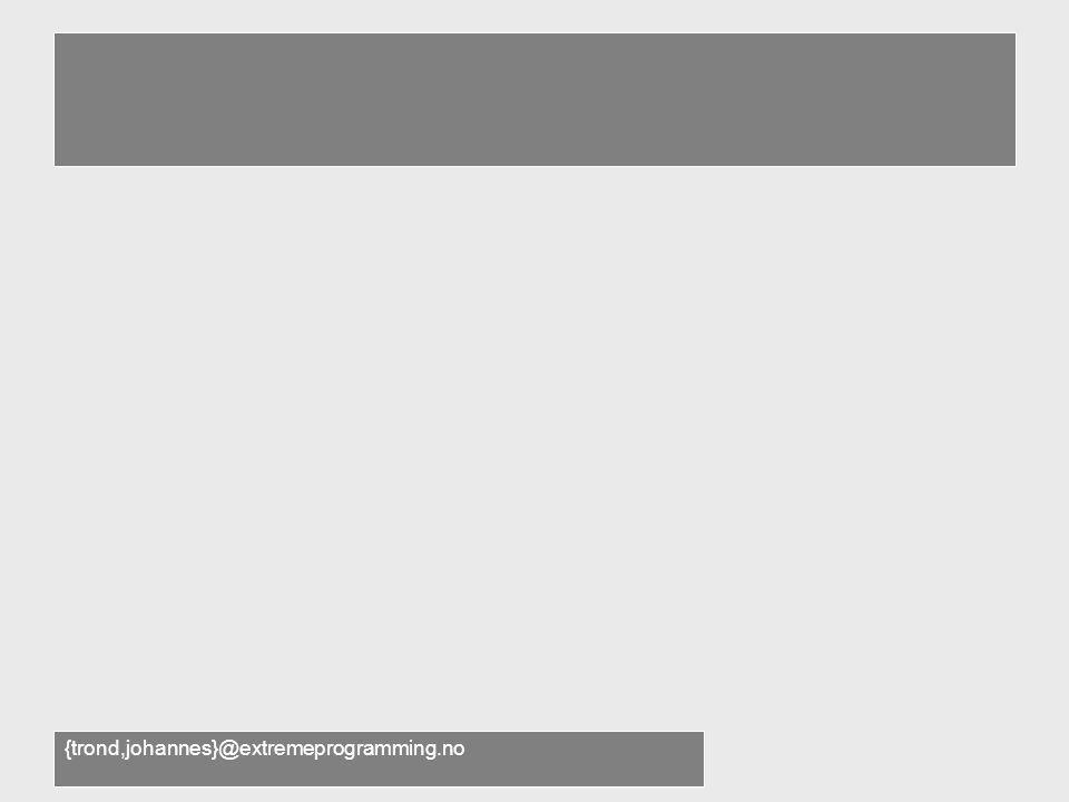 Bonusmatriell •Trond forteller om forecast på nett •Johannes forteller om JDemo –Andre problemstillinger