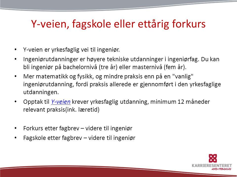 Generell studiekompetanse • Inntakskontoret ønsker å formidler budskapet om den eksklusive rettigheten ungdommene i Nord- Trøndelag har til allmennfaglig påbygging etter endt fagbrev.