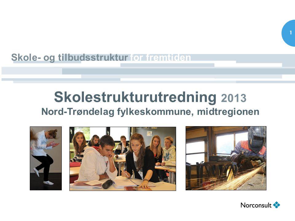 2 Bakgrunn •Fylkestingsak 24/13 Eventuelle endringer i skolestrukturen for videregående opplæring i Nord-Trøndelag.