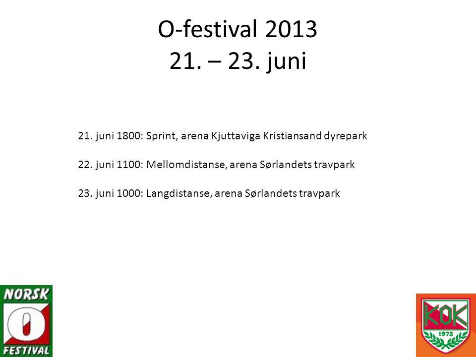 21. juni 1800: Sprint, arena Kjuttaviga Kristiansand dyrepark 22.