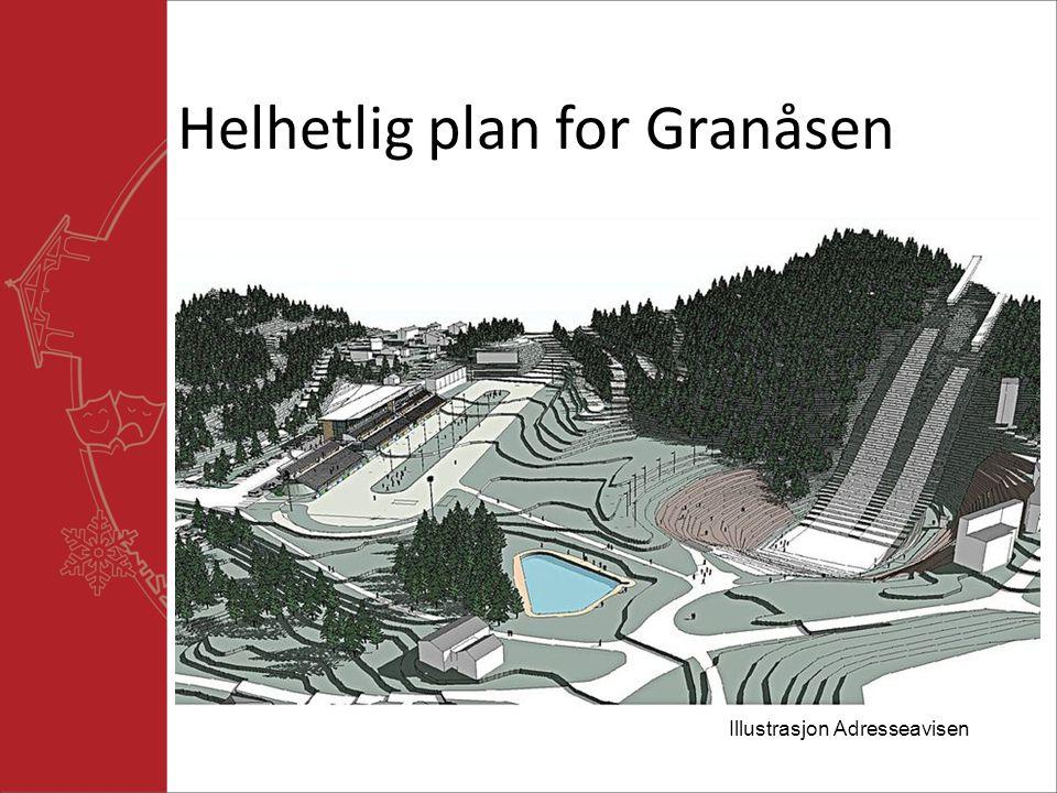 Helhetlig plan for Granåsen Illustrasjon Adresseavisen