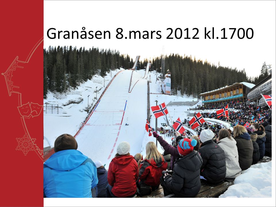 Granåsen 8.mars 2012 kl.1700