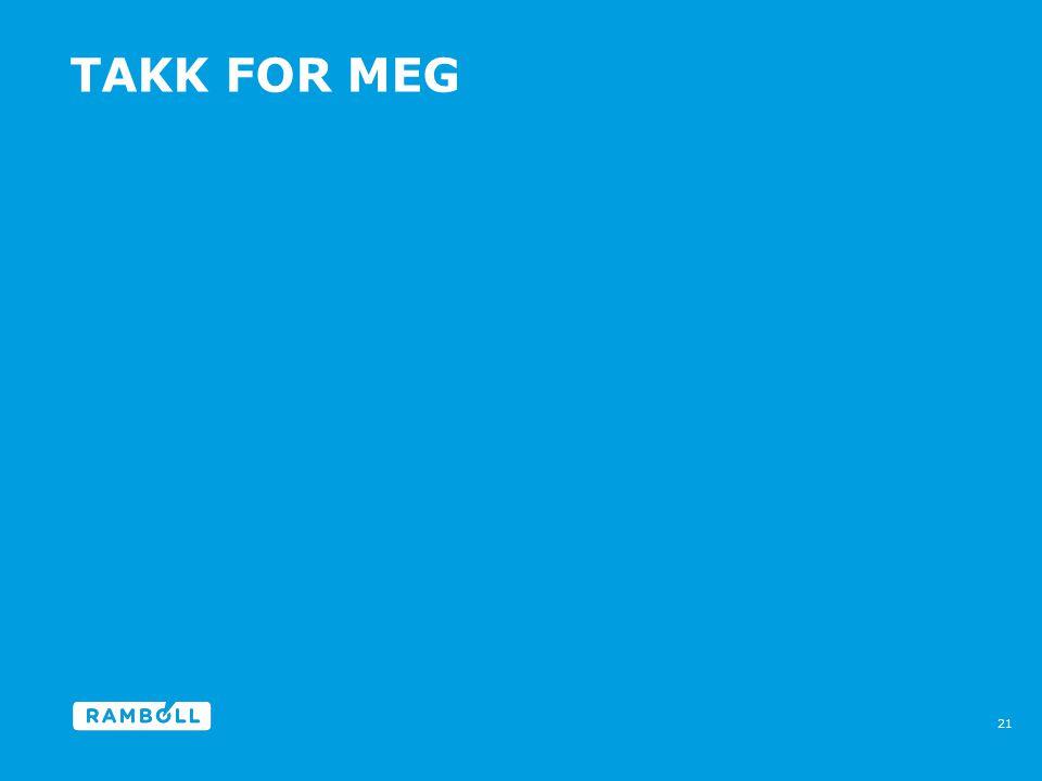 TAKK FOR MEG 21