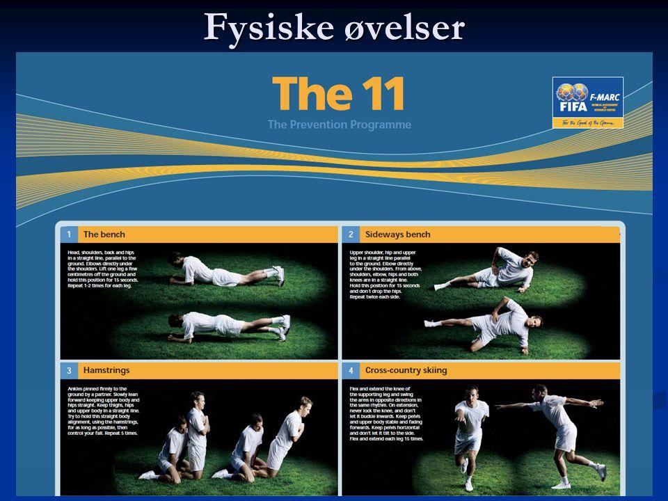 Fysiske øvelser  The 11