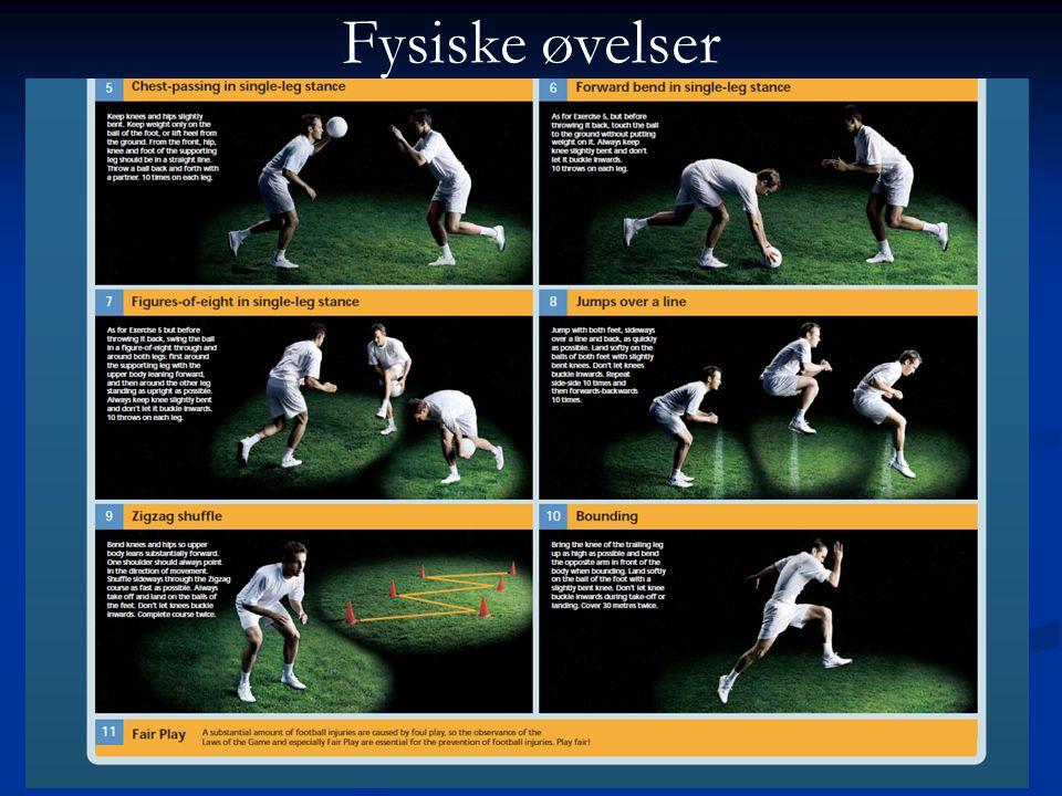 Fysiske øvelser