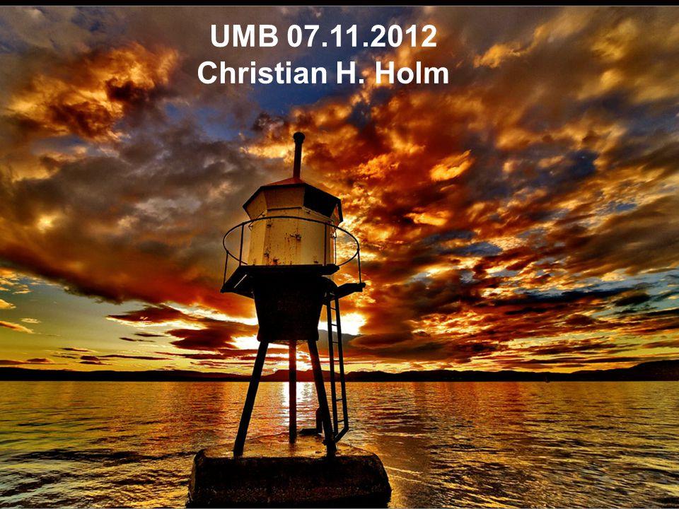 Folkevalgtopplæring for utvalgene 24. mars 2009 UMB 07.11.2012 Christian H. Holm