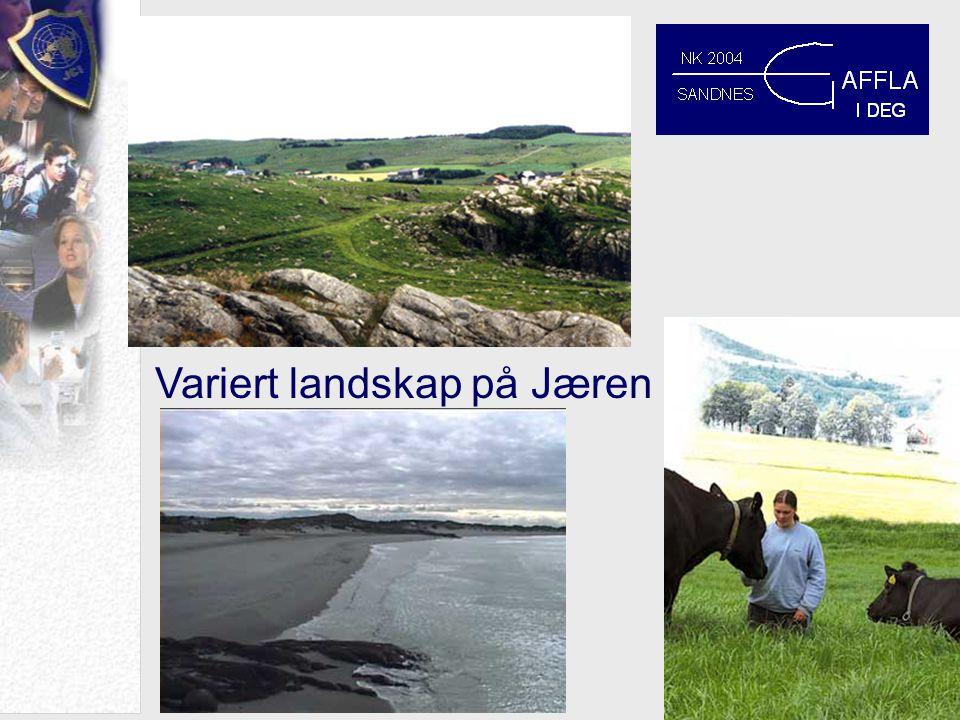 Variert landskap på Jæren