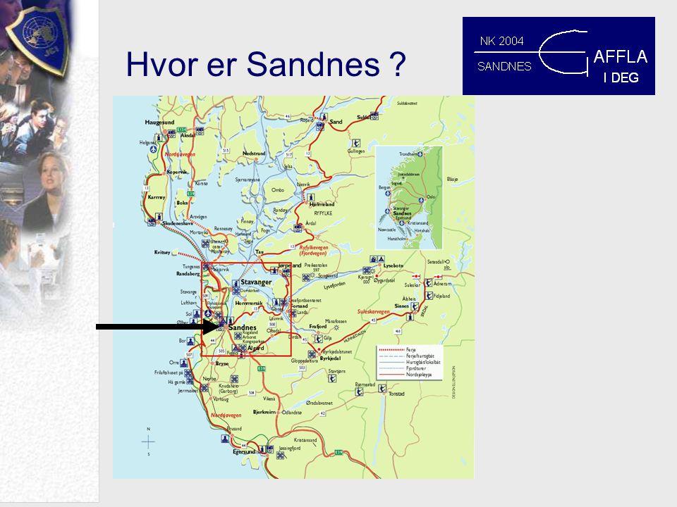 Hvor er Sandnes ?