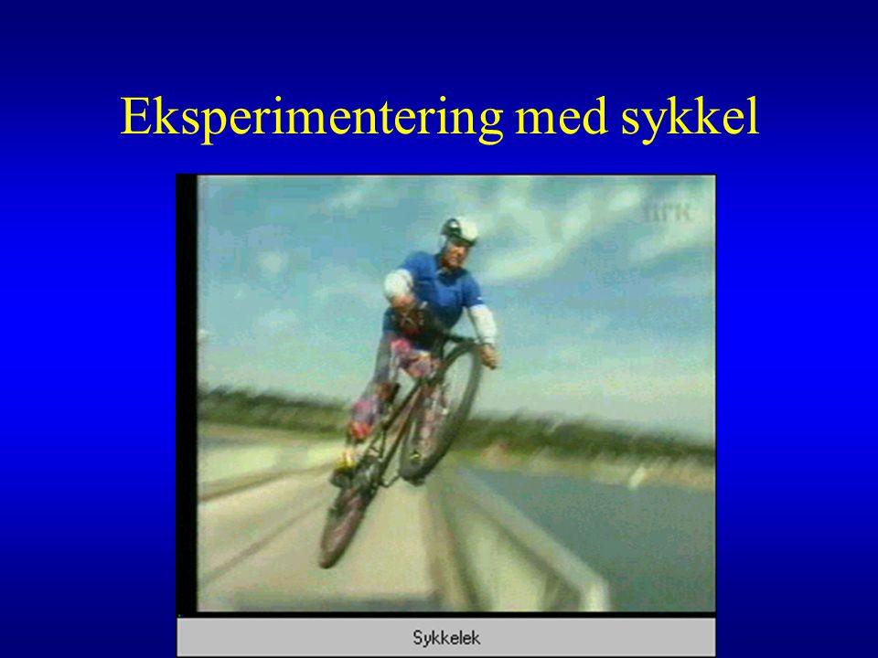 Eksperimentering med sykkel