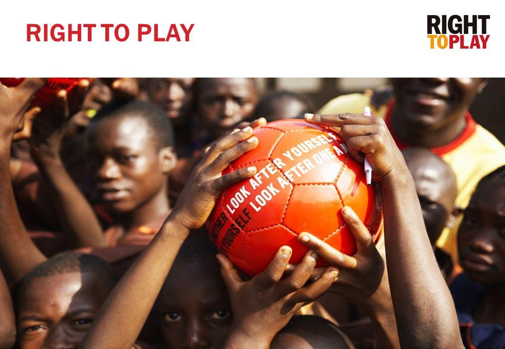 2  Right To Play ble stiftet i november 2000 som en forlengelse av Olympic AID  Ledes internasjonalt av Johann Olav Koss  Ca.