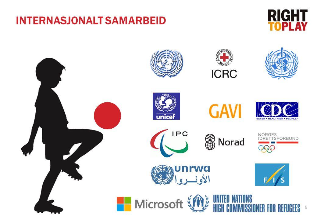 9 INTERNASJONALT SAMARBEID