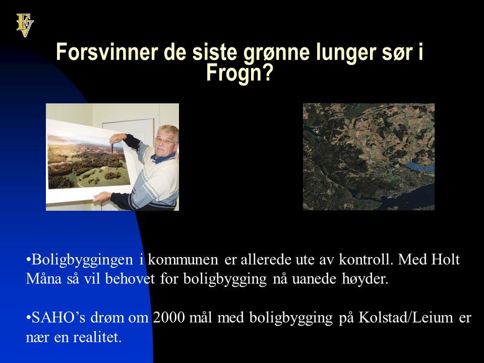 Forsvinner de siste grønne lunger sør i Frogn.