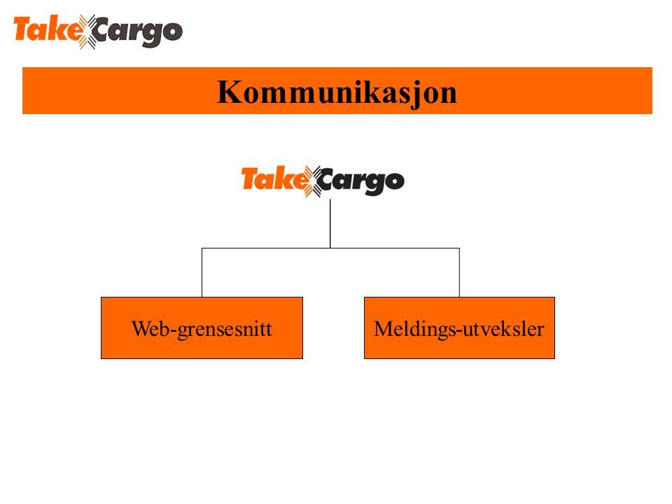 Kommunikasjon Web-grensesnittMeldings-utveksler