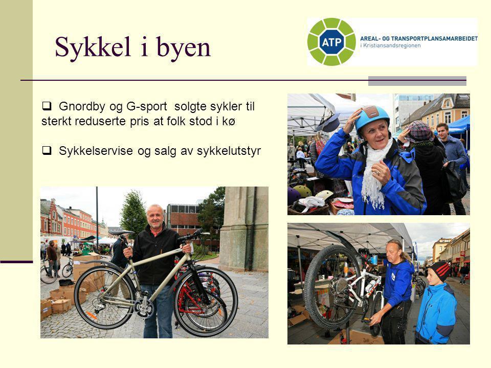 Sykkel i byen  Gnordby og G-sport solgte sykler til sterkt reduserte pris at folk stod i kø  Sykkelservise og salg av sykkelutstyr