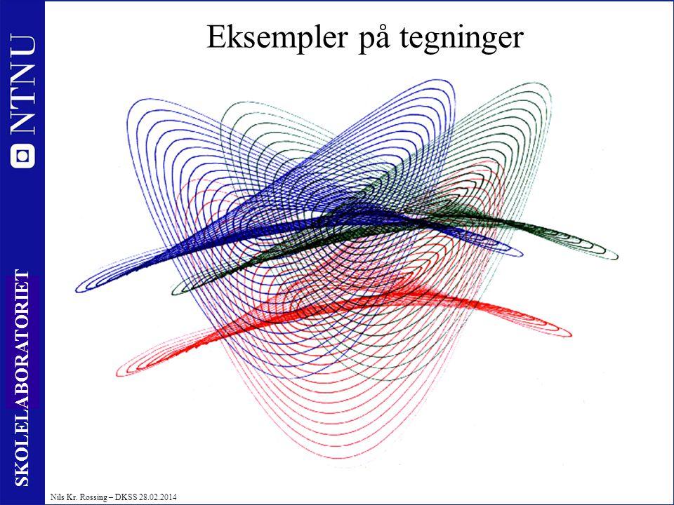 27 SKOLELABORATORIET Nils Kr. Rossing – DKSS 28.02.2014 Eksempler på tegninger