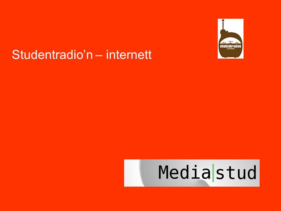 37 Studentradio'n – internett