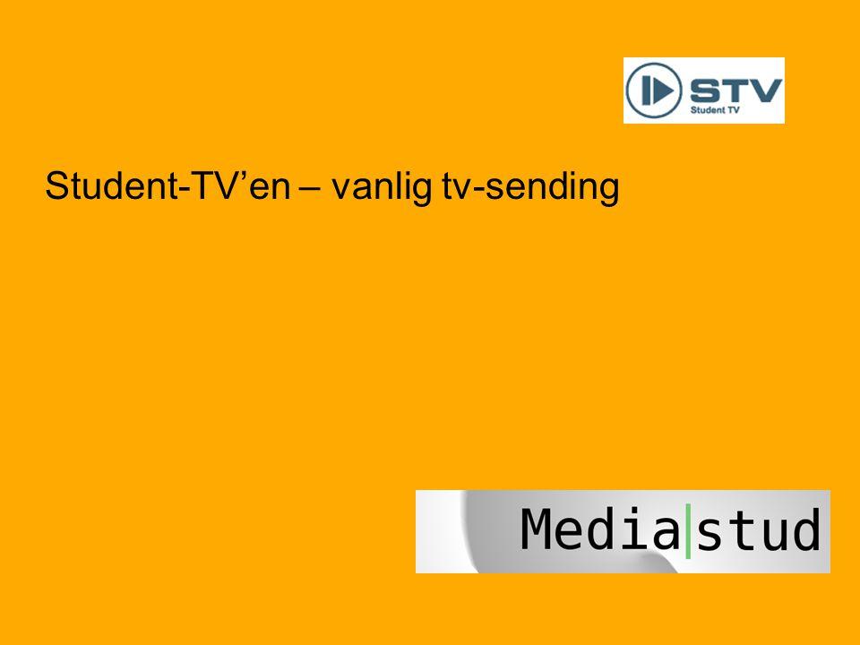 40 Student-TV'en – vanlig tv-sending