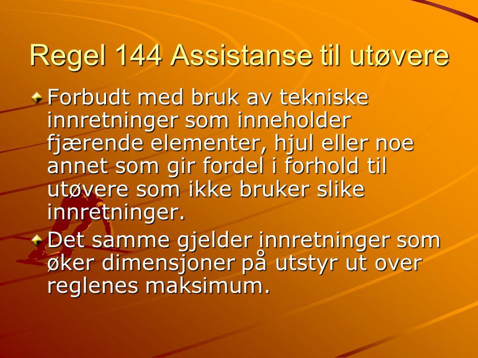 Regel 170 Stafett Veksling i banestafetter uten delte baner.