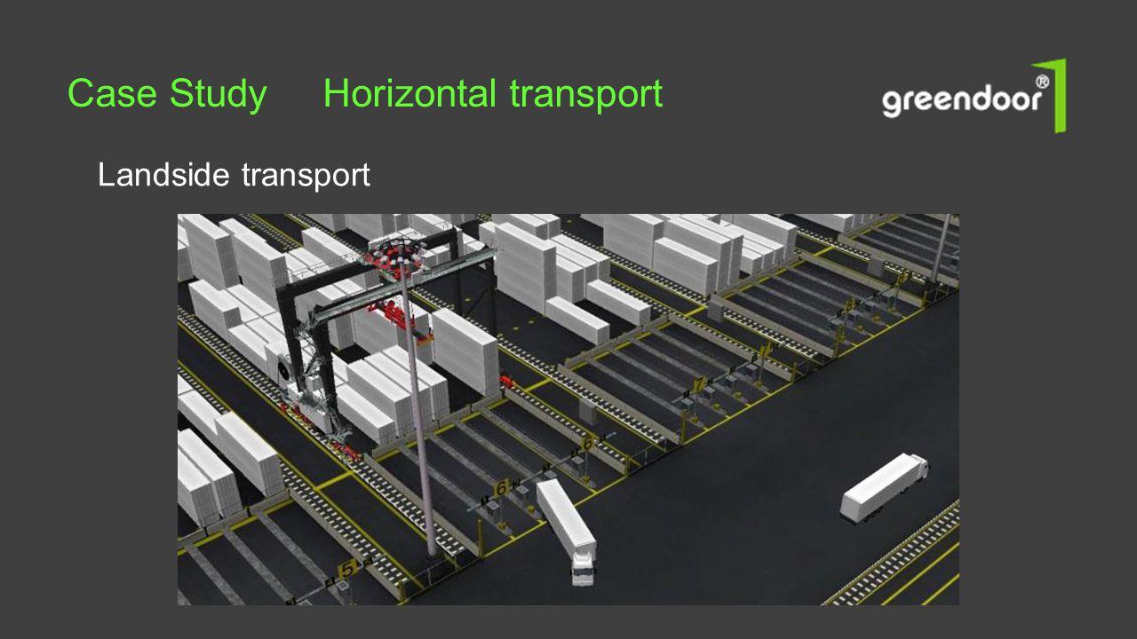 Landside transport Case Study Horizontal transport