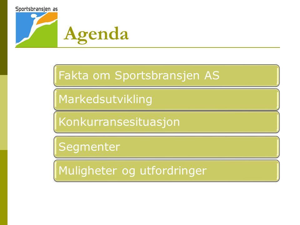 Sportsbransjen 2011 - 4% vekst forventes  Det hersker en viss usikkerhet om hvordan norsk sportsbransje vil utvikle seg i 2011.