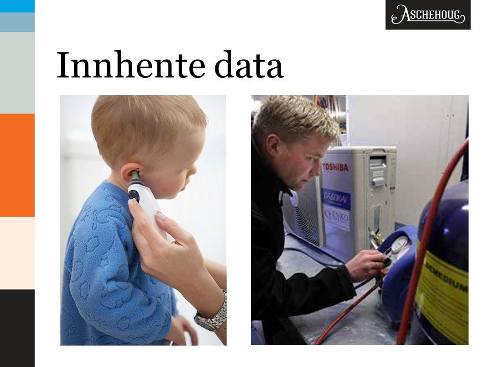 Innhente data