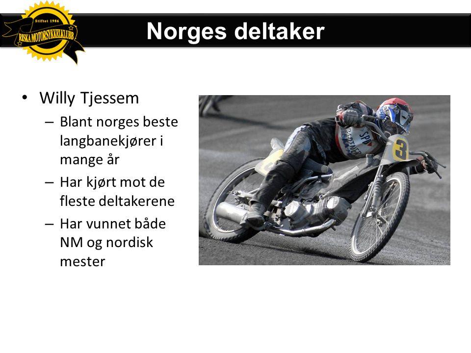 "Deltakerliste Norge får et ""wildcard"" og 2 reserver"