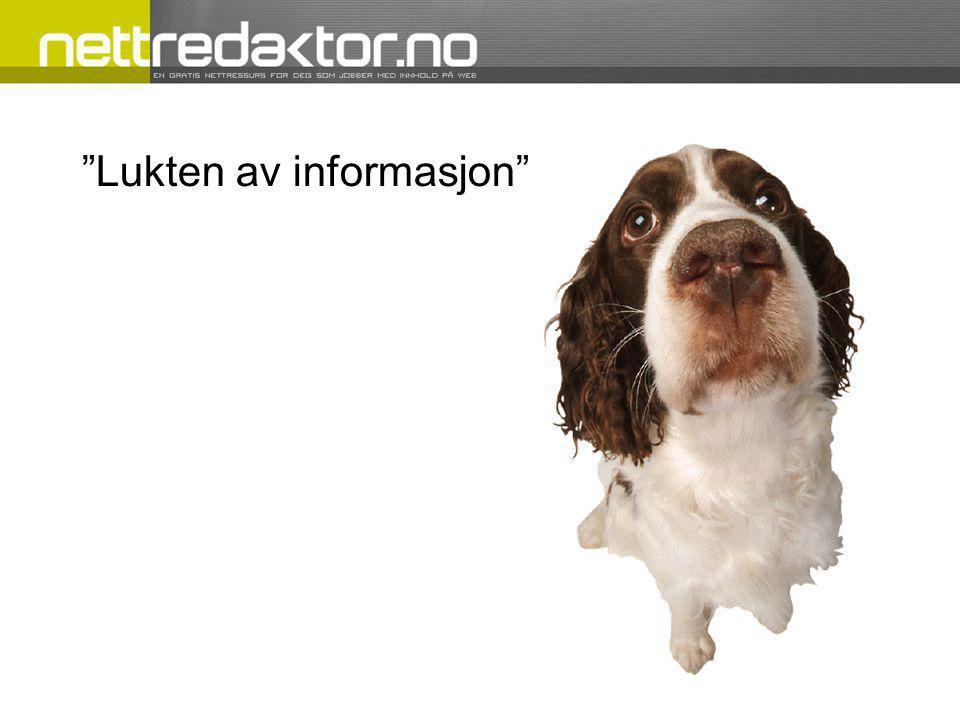 Lukten av informasjon