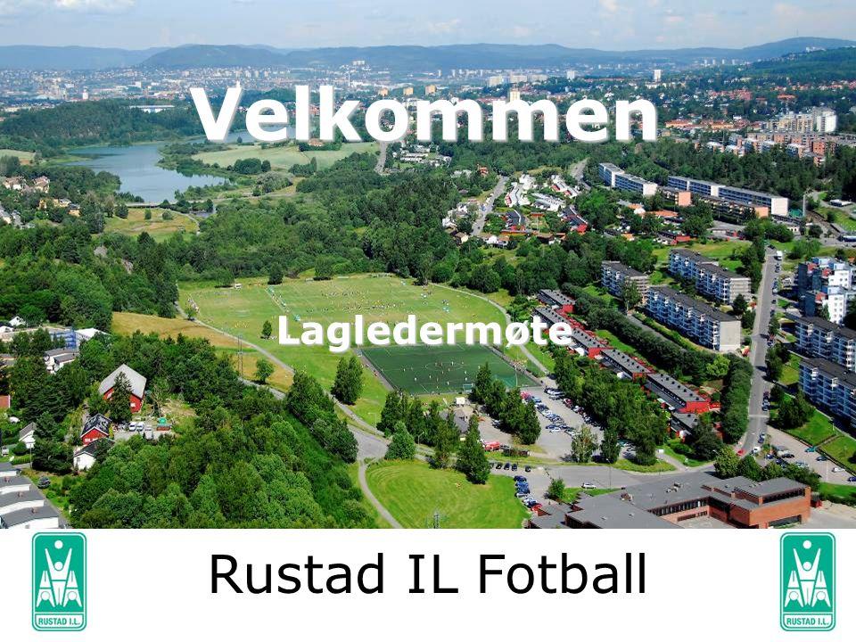 VelkommenLagledermøte Rustad IL Fotball