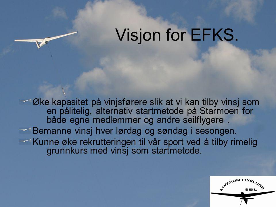 Visjon for EFKS.