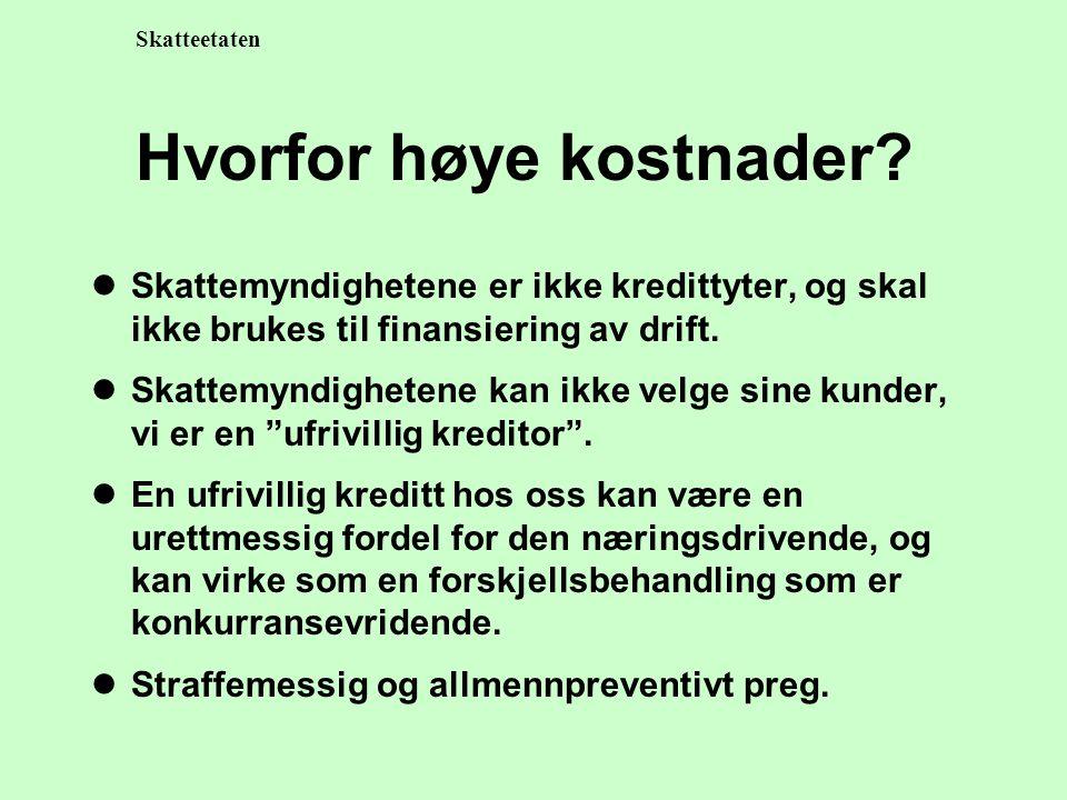 Skatteetaten Innkrevingsløpet VarselForfallUtlegg utleggstrekk Tvangssalg Konkurs.