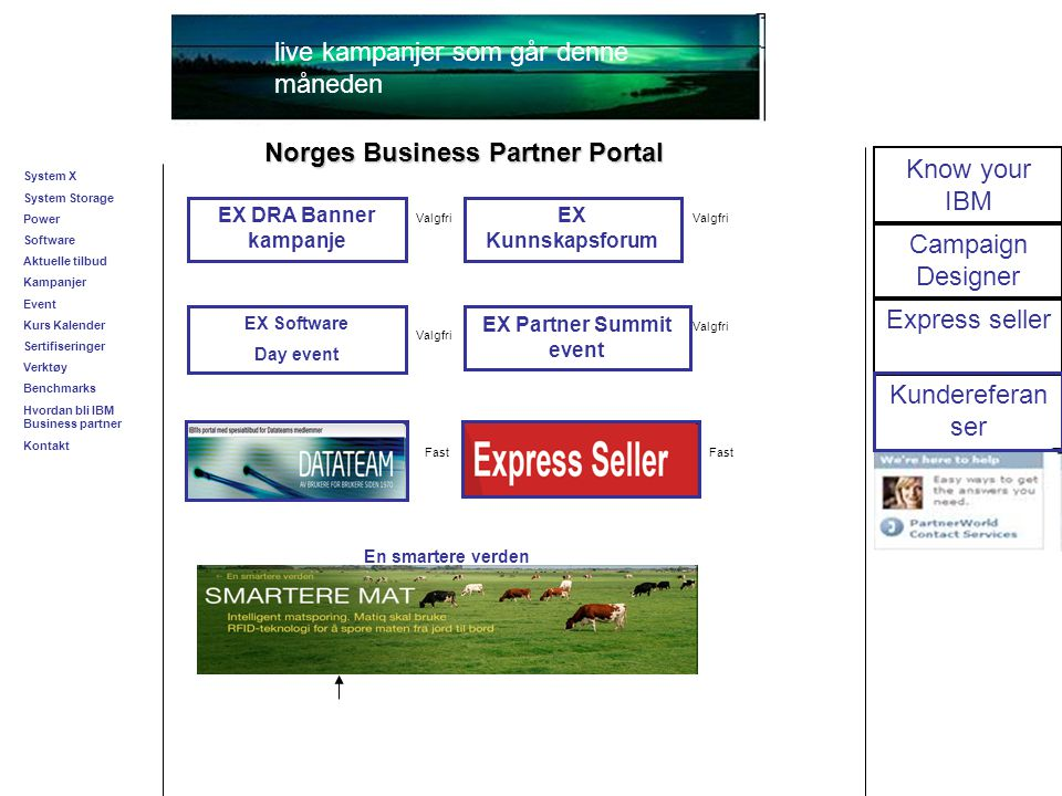 Business Unit Designation or other information 20 Nyttige linker  PartnerWorld PartnerWorld  E-News: E-news  Registrering E-News: Registrer deg for E-news  Aktuelle Tilbud Aktuelle tilbud