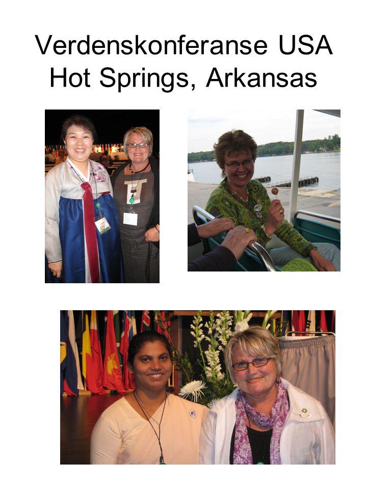 Verdenskonferanse USA Hot Springs, Arkansas