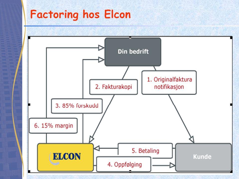 Factoring hos Elcon