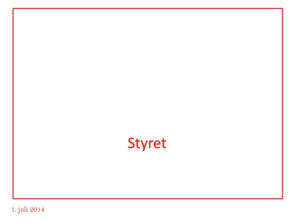 www.advokatvrk.no 1. juli 2014 Styret