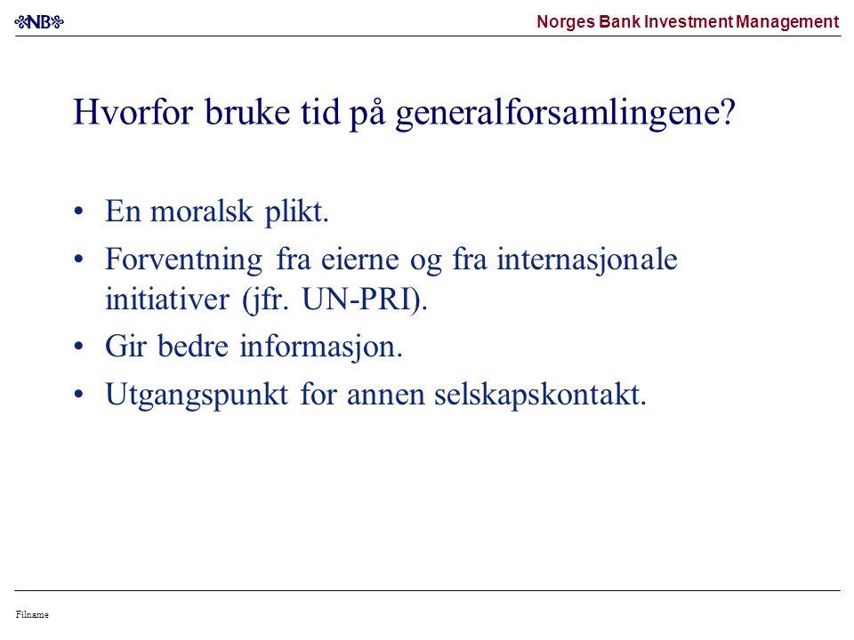Norges Bank Investment Management Filname Hvorfor bruke tid på generalforsamlingene.