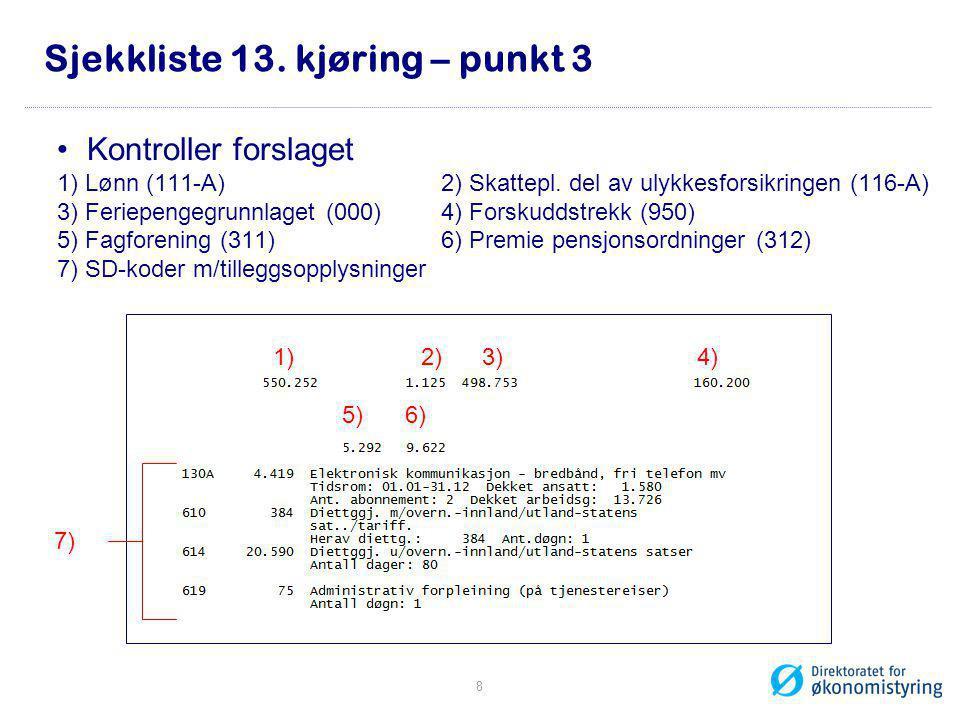 YHR_OPPGPL •Kontroll av LT-oppgaver enkeltpersoner 9