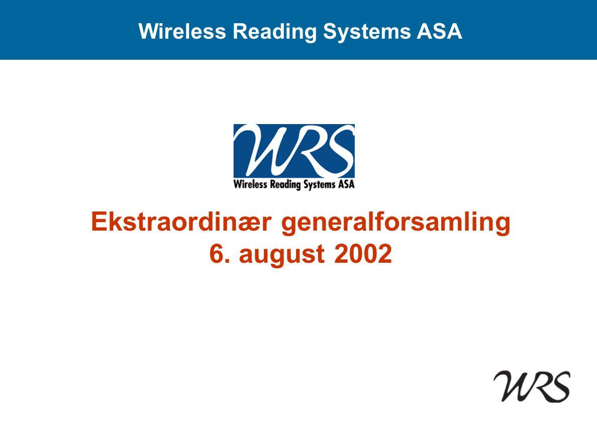 Østfold Energi • Status 27.05.02: Ingen konkret avtale • Status 06.08.02: Leveranseavtale på 10 000 enheter signert 28.
