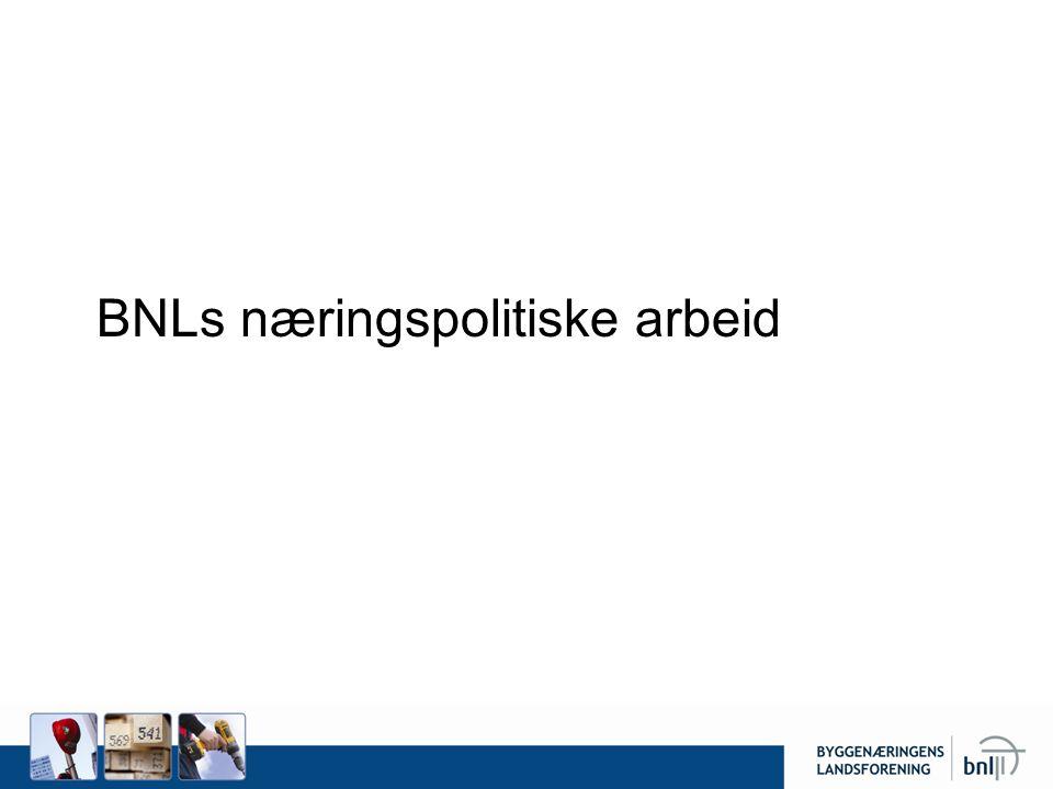 BNLs næringspolitiske arbeid